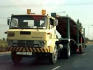 1980s EBRO P320 Tractor