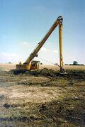 A 1980s Priestman Brothers VC20 Excavator Longreach Diesel