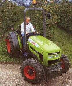 Claas RB 130 MFWD - 2005