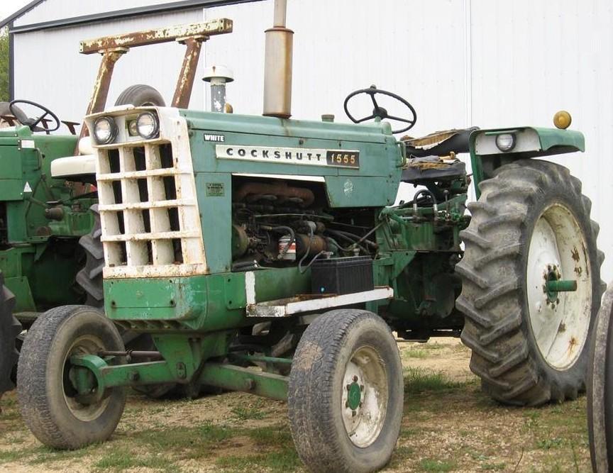 Cockshutt Model 30 farm tractor canvas art print by Richard Browne