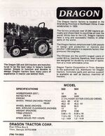 Dragon 324 MFWD brochure