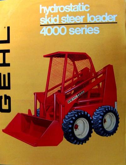 Gehl 4600 | Tractor & Construction Plant Wiki | FANDOM