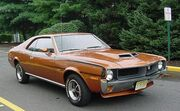 1970 AMC Javelin SST in bitter sweet orange