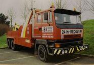 A 1980s Scammell S26 Heavy Wrecker Diesel