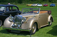 Alvis TA14 Tickford DHC front