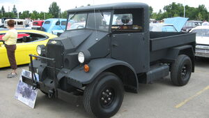 Canadian military pattern truck front