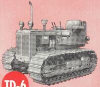 International TD-6 wide 1958