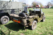 Jeep US Army (NAS 808) at Kirkby Stephen 2014 - IMG 5477