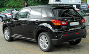 Mitsubishi ASX rear 20100717