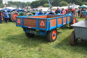 Ransomes Tipping trailer (reg 571 FHN) at Masham 09 - IMG 0376