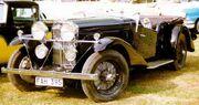 Talbot 105 Tourer 1933