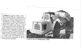 1968 CAMILL Muir-Hill 410 4WD ADT Diesel