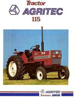 Agritec 115 brochure