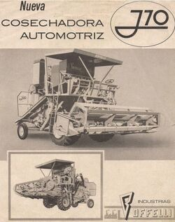 Boffelli J10 combine b&w brochure