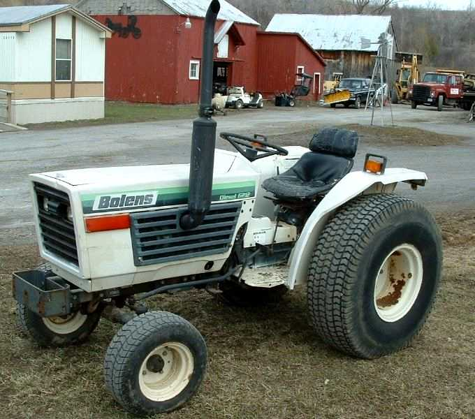 Category:Bolens tractors built by Iseki | Tractor