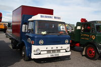 Ford D series (XBU594S) at Exelby services 2013 - IMG 1976