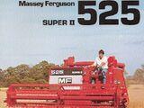 Massey Ferguson 525 Super II combine