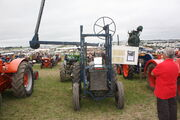 McConnel hedge cutter on a Fordson at GDSF 08 - IMG 0672