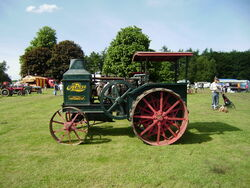 Rumley Oil Pull Tractor