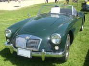 '58 MG MGA Roadster (Hudson)