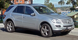 2005-2008 Mercedes-Benz ML 320 CDI (W164) wagon 01