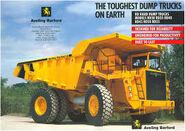A 1990s Aveling Barford RD55 Dumptruck