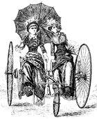Ausfahrt im Sociable um 1886 - Verkehrszentrum