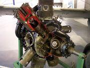Bristol Perseus sleeve valve radial engine