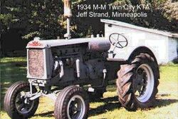 MM Twin City KTA - 1934