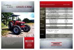 Ursus (Brazil) 4-80M MFWD (Mahindra)