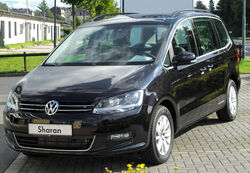 VW Sharan II 2.0 TDI BlueMotion Technology Comfortline front 20100905