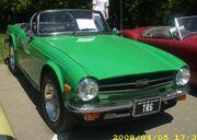 '76 Triumph TR6 (Hudson)