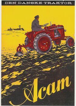 Acam tractor brochure