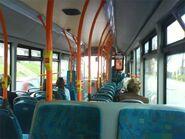 Cardiff Bus Enviro300 interior