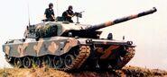 Engesa EE-T1 tank