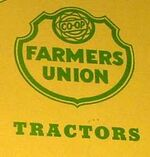 Farmer's Union Co-op Tractors logo