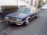 Ford Fairmont 4p 1982 Azul