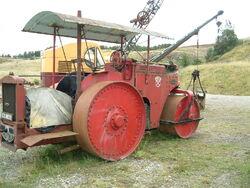 Pioneer Diesel roller