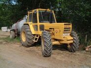 1980s EBRO 6125 4X4 Tractor and Tankertrailer