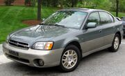 2nd Subaru Outback sedan