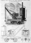 A 1880s Smith Of Rodley Steam Railway Locomotive Crane