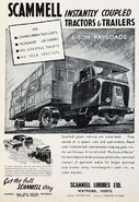 A 1940s Scammell Lorries Original Catalogue