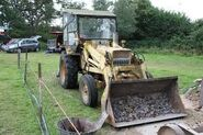 A 1970s Whitlock Brothers Fordson based Digger Loader