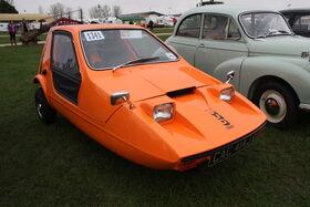 Bond Bug - (CAC 414J) at Newark 2012 - IMG 4308