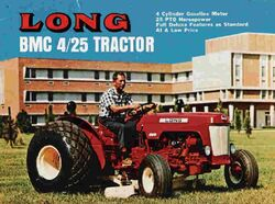 Long BMC Nuffield 4-25 ad