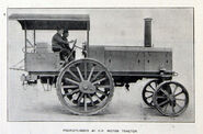 A 1908 Thornycroft Motor Tractor Steampowered