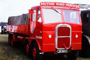 A 1950s Scammell Rigid 8 Cargolorry Diesel