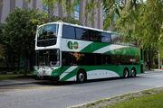 GO Transit double-decker bus