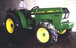 JD 1745F MFWD - 1989