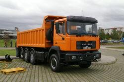 MAZ-MAN truck